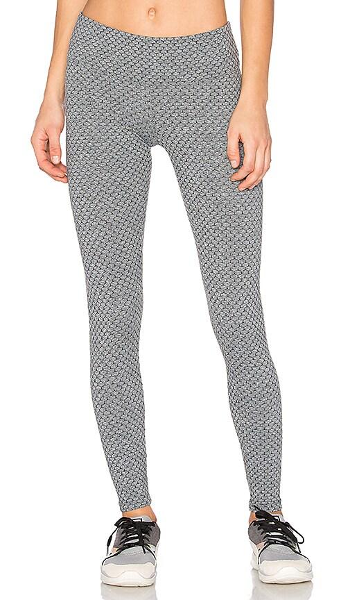 Track & Bliss Honeycomb Leggings in Gray