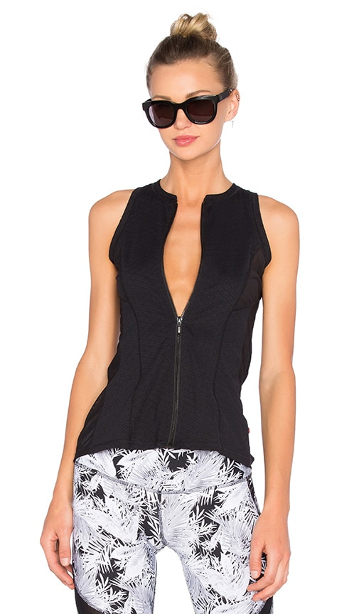 Track & Bliss Marquee Vest in Black
