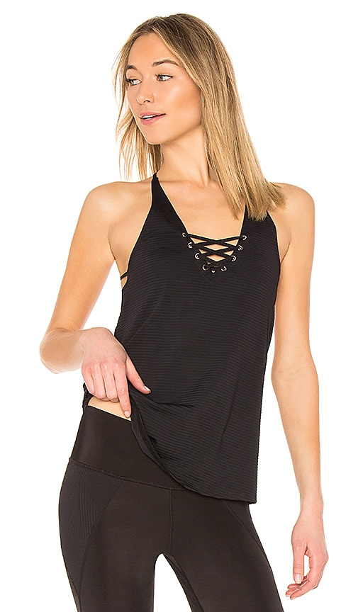 Track & Bliss Sailor Tank in Black