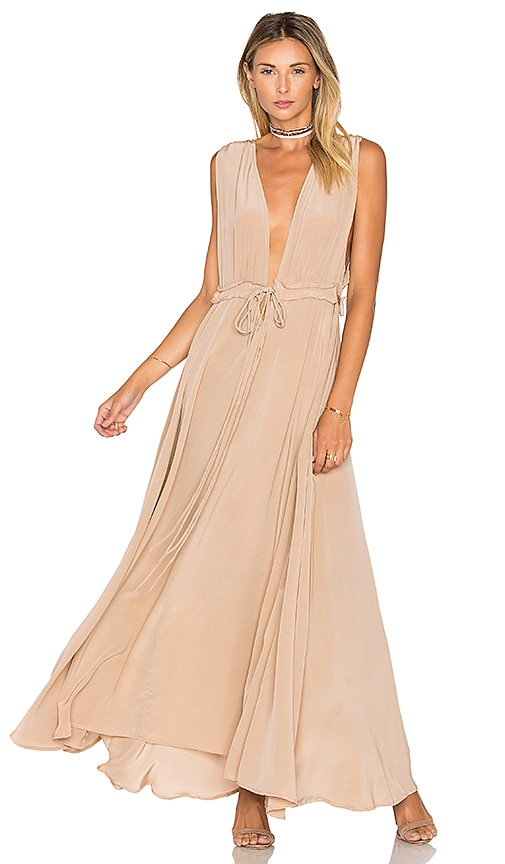TROIS Josie Maxi Dress in Blush