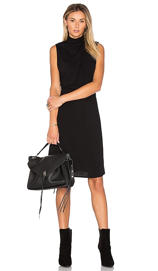 TROIS Alek Dress in Black