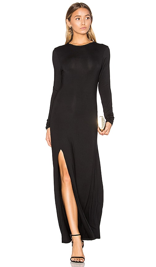 TROIS Karen Dress in Black