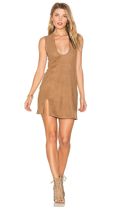 TROIS Frankie Dress in Brown