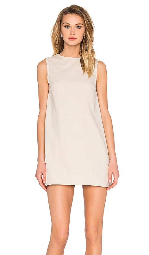 TROIS Kidd Dress in Beige