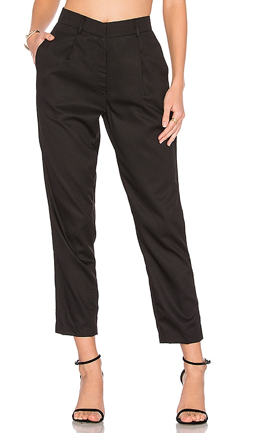 TROIS Juergan Pant in Black