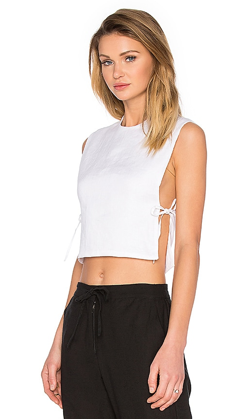 TROIS Esther Top in White