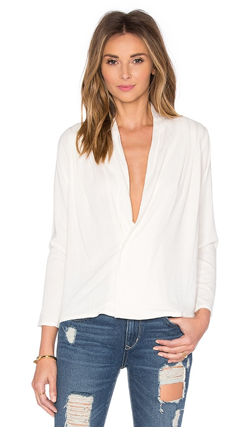 TROIS Emma Blouse in Ivory