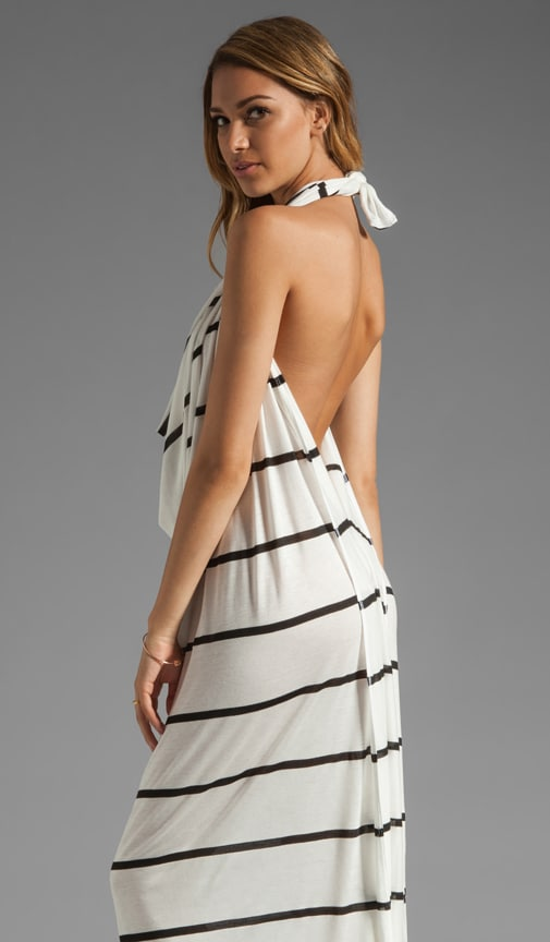Intuition Draped Halter Dress