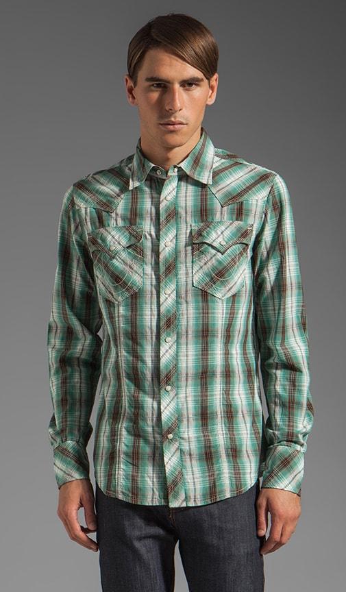 Plaid Poplin Rocky Western Shirt