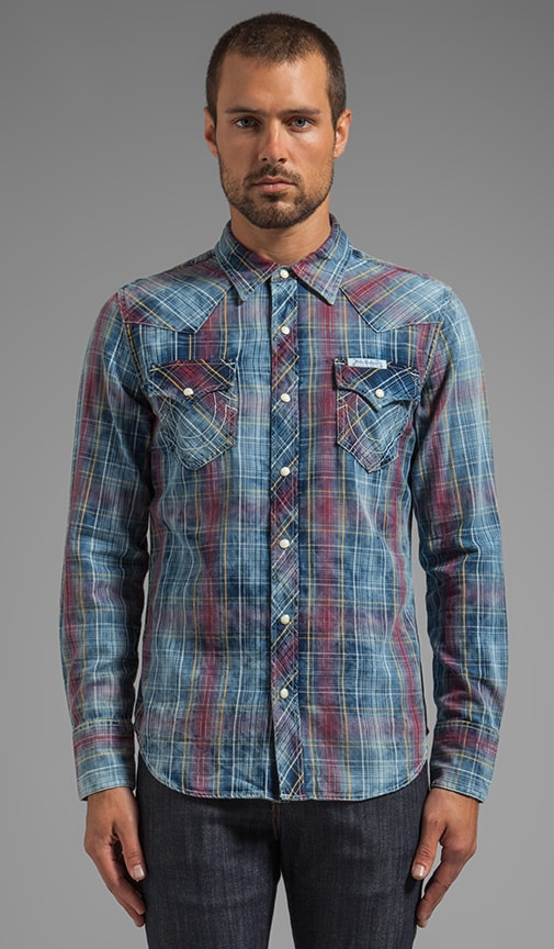 L/S Western Plaid Shirt