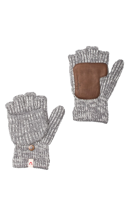 Two-Tone Convertible Gloves