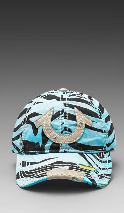 Zebra Cap