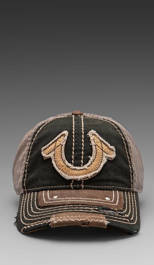 Vintage Horseshoe Cap