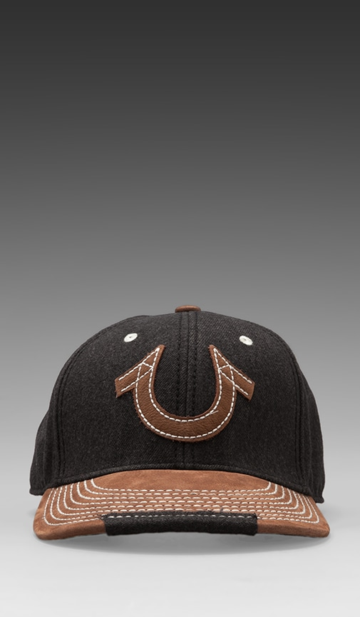 Horseshoe Snap-Back Baseball Cap