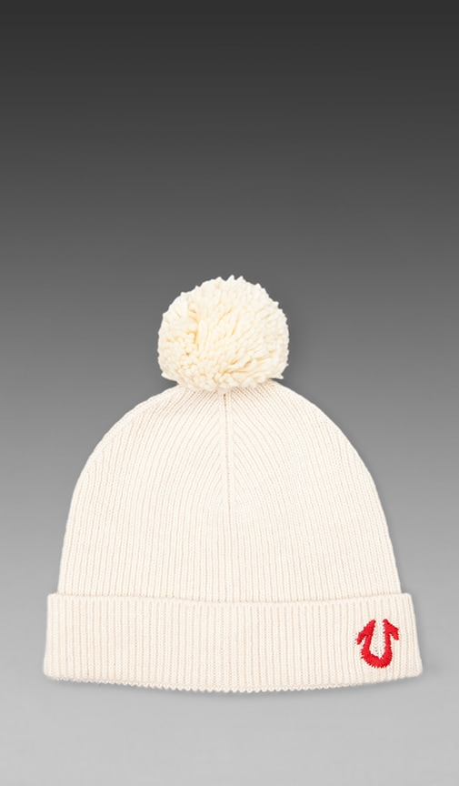 Knit Watchcap with Pom