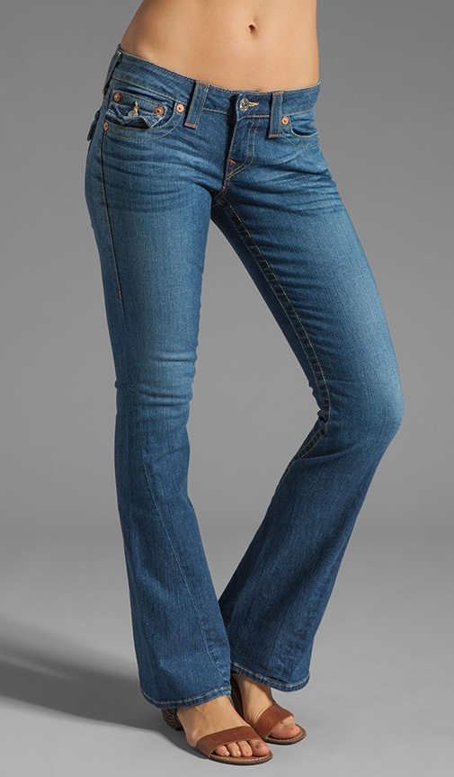 Classic Joey Twisted Seam Flare Jean