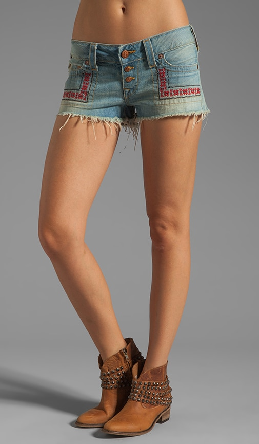 Faye Embroidered Short