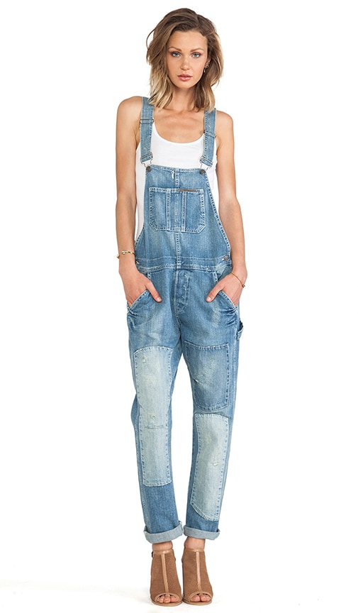 Erin Crop Relaxed Overall