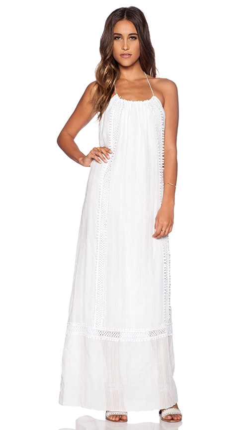 TRYB212 Rie Maxi Dress in White