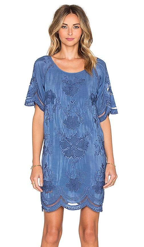 TRYB212 Enson Dress in Blue