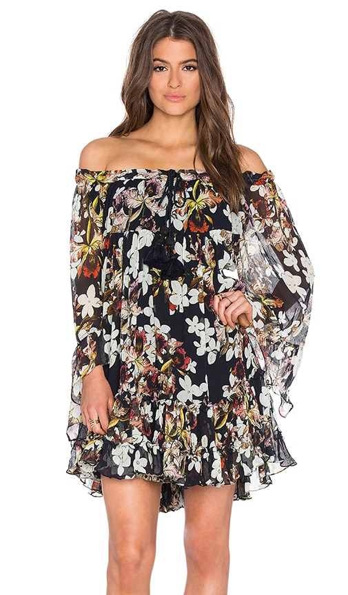 TRYB212 Michelle Dress in Atlantic Floral