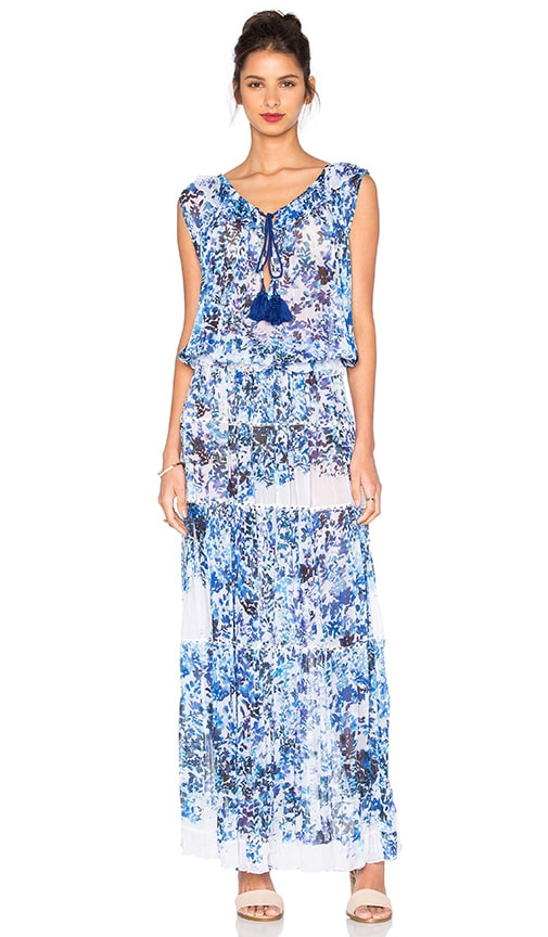 TRYB212 Serena Maxi Dress in Blue