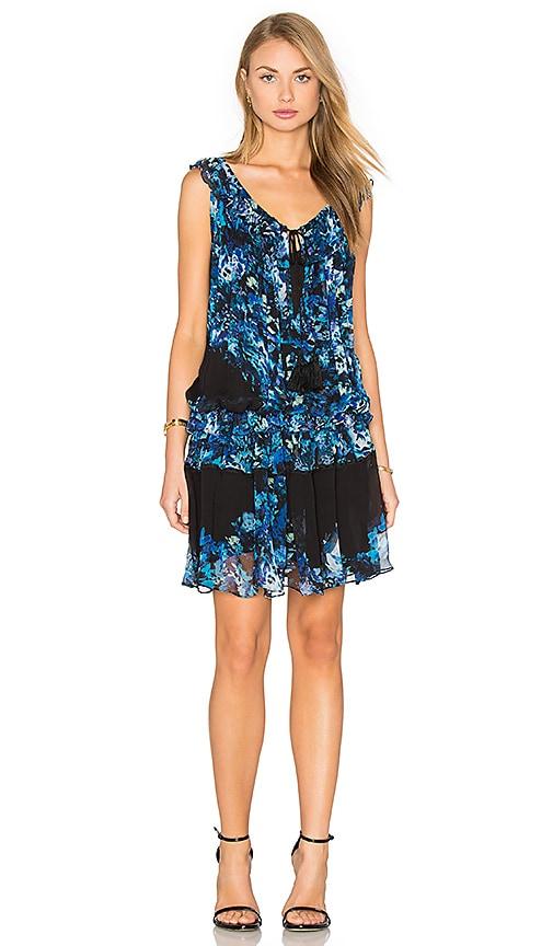 TRYB212 Ebony Dress in Blue