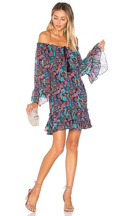 TRYB212 Lupita Dress in Blue