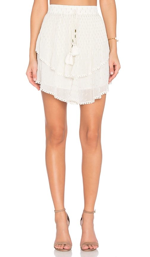 TRYB212 Collins Skirt in Ivory