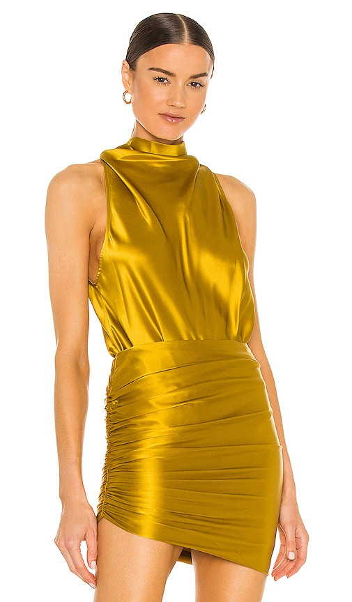 The Sei Mini dresses HALTER BODYSUIT