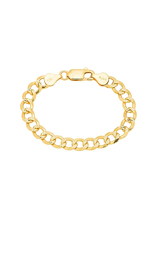 The M Jewelers NY The Curb Link Bracelet in Metallic Gold