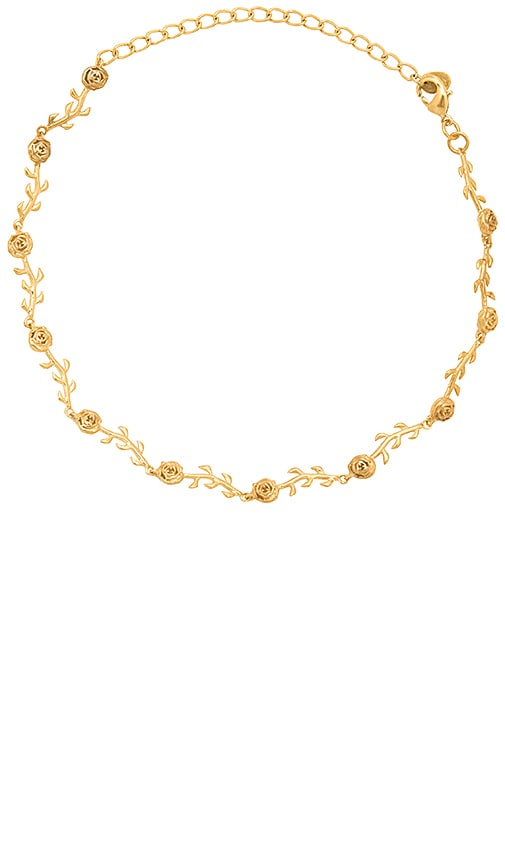 The M Jewelers NY The Rose Choker in Metallic Gold