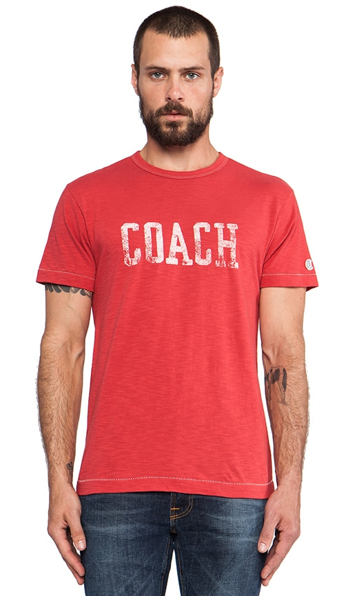 Coach Graphic Tee