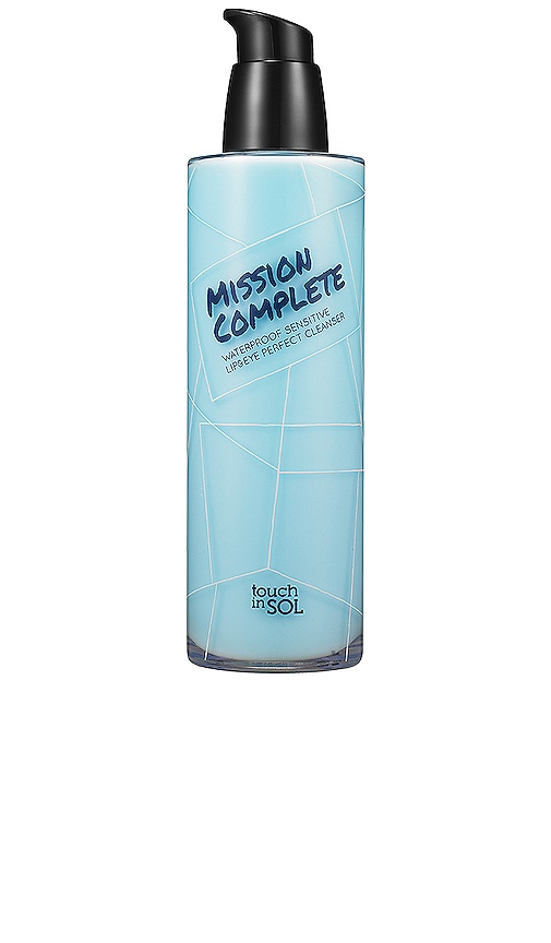 Mission Complete Waterproof Sensitive Lip & Eye Perfect Cleanser