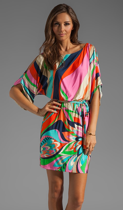 Surfside Swirl Jersey Dress