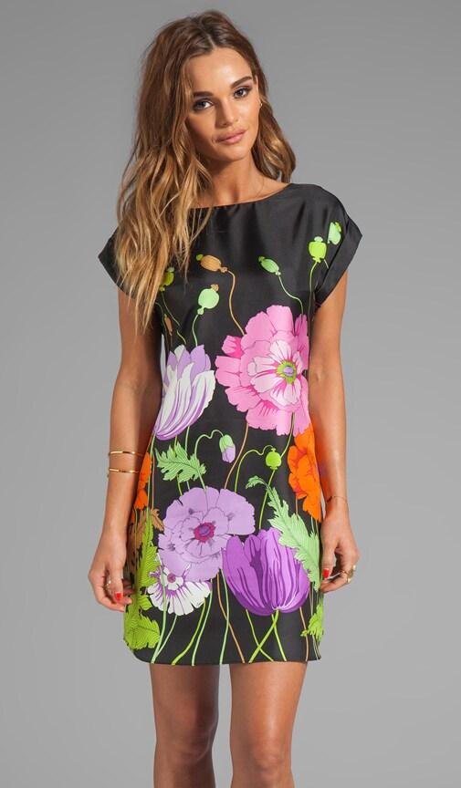 Midge's Garden Silk Twill Nichelle Dress