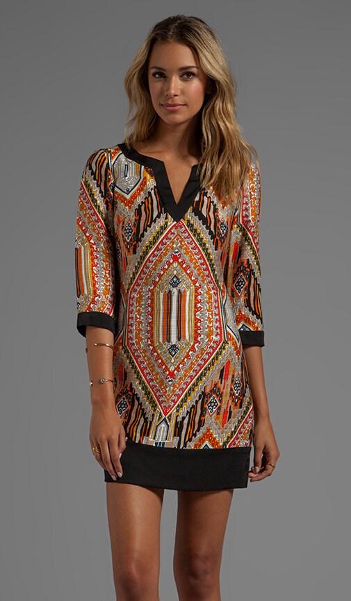Tribal Diamond Kurta Dress