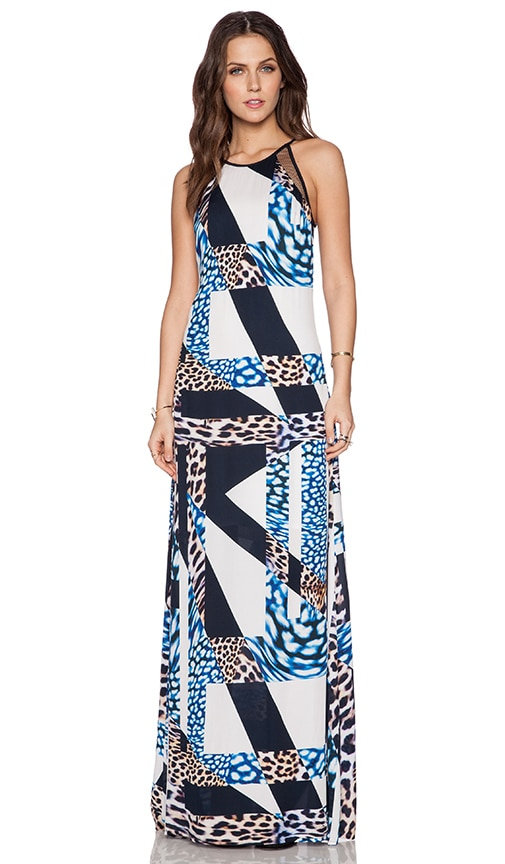 Trina Turk Portia Maxi Dress in Multi
