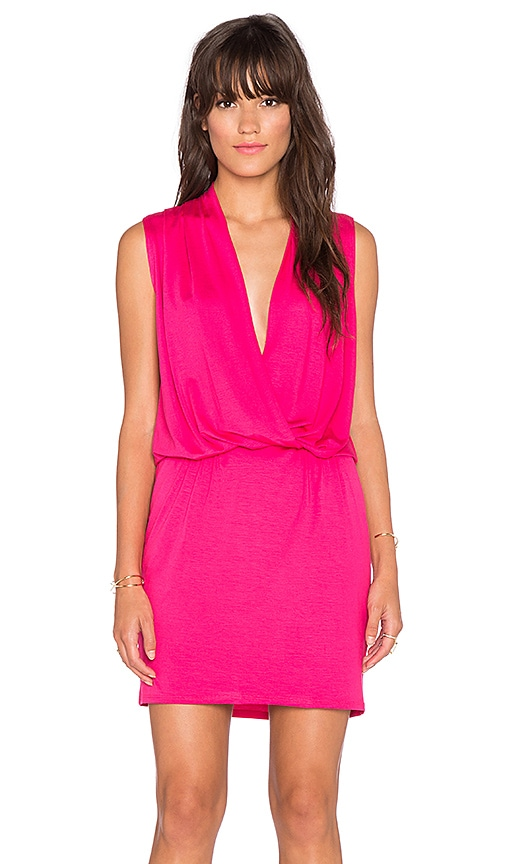 Trina Turk Gracie Dress in Fuchsia