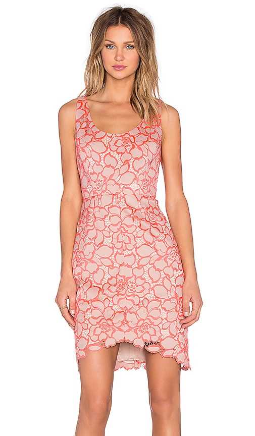 Trina Turk Kruze Mini Dress in Pink
