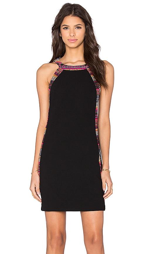 Trina Turk Ashland Dress in Black Multi