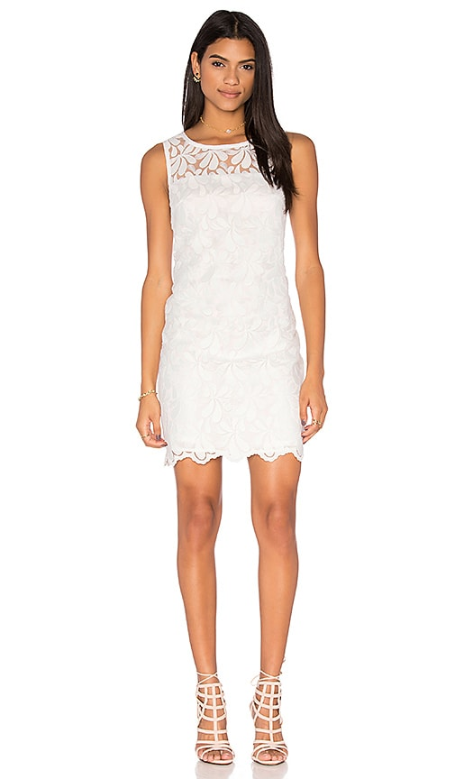Trina Turk Bisitti Dress in White