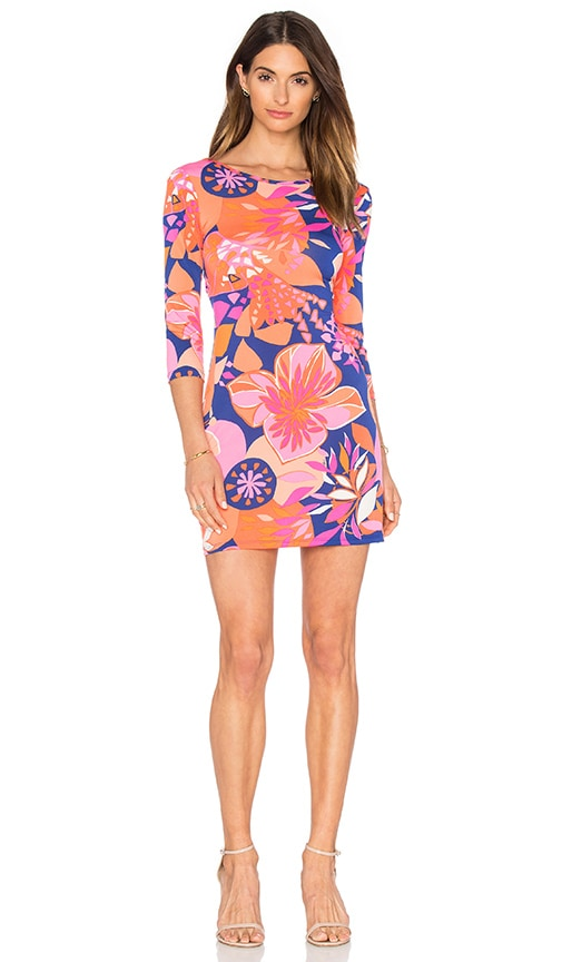 Trina Turk Tina Dress in Orange