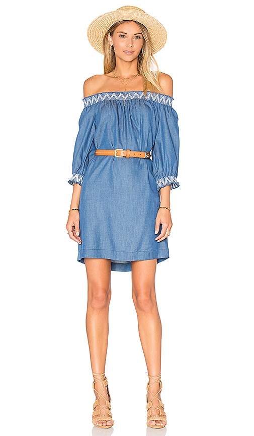 Trina Turk Neville Dress in Blue
