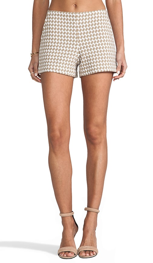 Multi Houndstooth Link Short