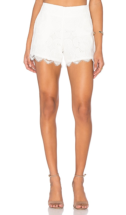 Trina Turk Cece 2 Short in White