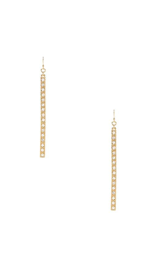 Pave Matchstick Earrings