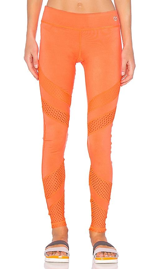 Trina Turk Lazer Cut Solids Legging in Orange