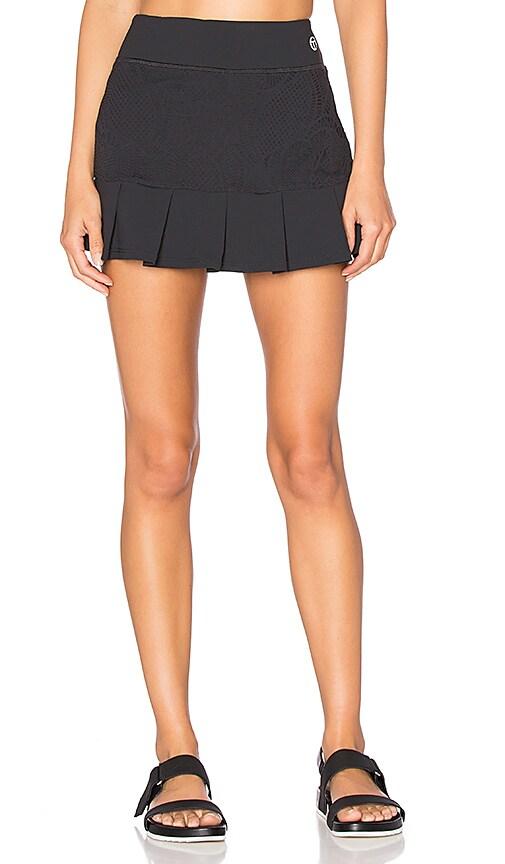 Patchwork Jacquard Tennis Skirt