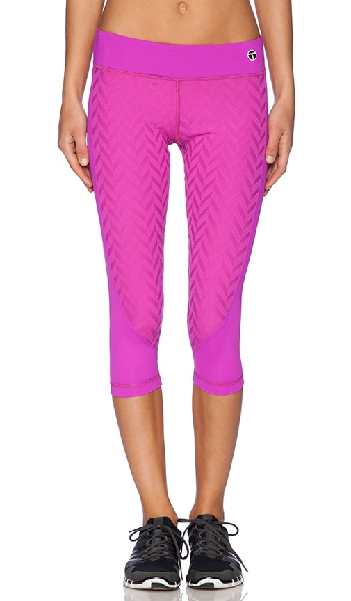 Jet Set Jacquard Crop Legging